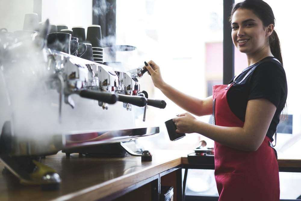 Coffee shop owner interested in Franchisee Loans