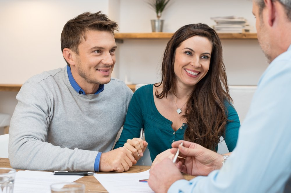 Couple applying for Residential Investment Loans